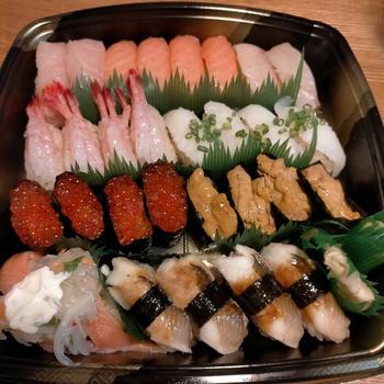 今日はお寿司の写真