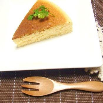 小嶋ルミさんのレシピでふわシュワ~スフレチーズケーキ☆