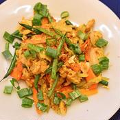 ベトナム風卵麩野菜炒め