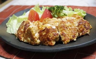 12/06/23 クリームチーズとキムチの鶏団子