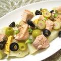 鮭とじゃが芋のサラダ
