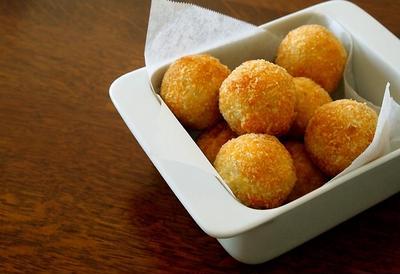 里芋のコロッケと生姜ごはんのお弁当&嬉しい贈り物part2♪