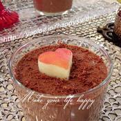 バレンタインにオールスパイス香る濃厚☆チョコムース