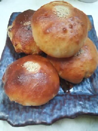 インゲン豆白あんの米粉パン