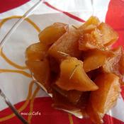 *ローズマリーとシナモンの煮リンゴ