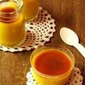 材料4つ*かぼちゃプリン