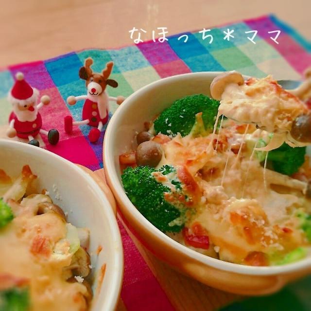 山芋の味噌マヨグラタン❤トローリほくほく❤新食感
