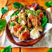 ♡揉んで焼くだけ♡めんつゆマヨde超絶危険なやみつきチキン♡【簡単*時短*節約】鶏もも肉*鶏むね肉