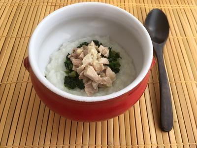 海南鶏飯風のお粥