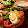 レトルトスープを使って簡単なのに本格的なスープカレー