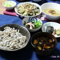 鰻の柳川風&鰻ちまき焼きおにぎり茶漬けで、蕎麦ディナー♪