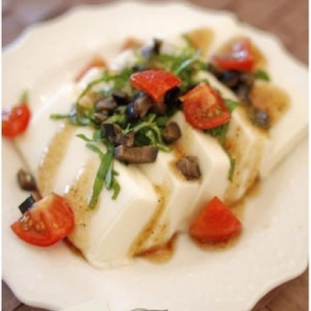 お豆腐のイタリアンなバルサミコサラダ風