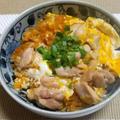 鶏てりやきのたれで親子丼を使って味付けいらず♬