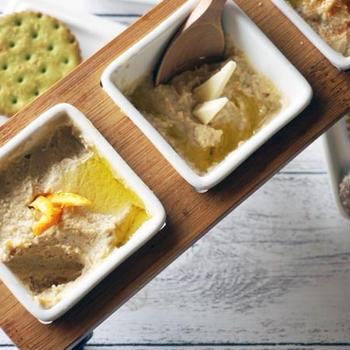 大豆のチーズフムス。3種あるよ!