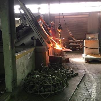 VERMICURA工場見学。