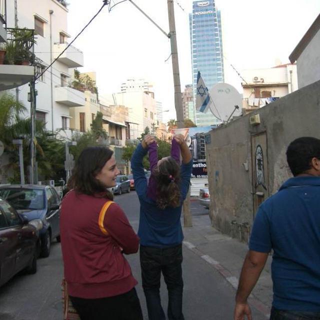 テル・アビブの街並み