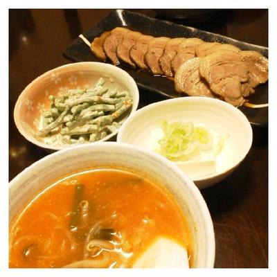 昨日の夕ご飯☆冷蔵庫キャンパーンめにゅ~