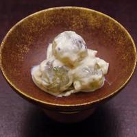 巨峰の白あえ と 松茸づくしの夕食