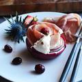 パルマハムと新玉ねぎとブッラータのタパス と バレンタイン本命用に超簡単 ネイキッドケーキ