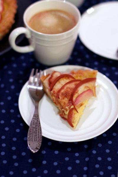 カルピスクリームのアップルパイ