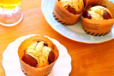 【マフィンの作り方】チョコバナナマフィンのレシピ