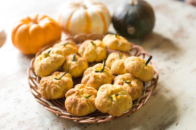 トースターで作る立体かぼちゃ型クッキー