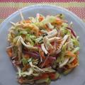アジア風鶏肉とミントのサラダ【Asian Chicken and Mint Salad】