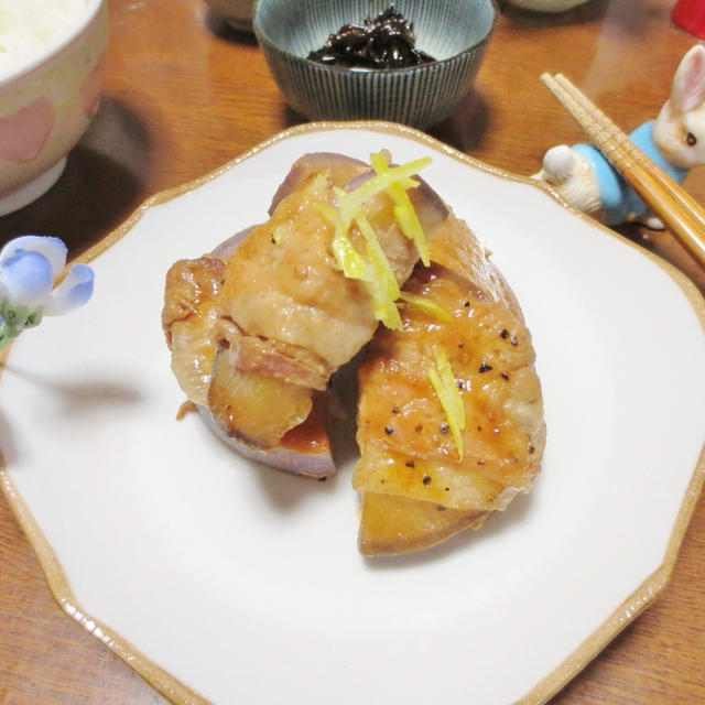 メインにも☆大根の豚肉巻き♪焼き肉のタレ柚子風味ソテー