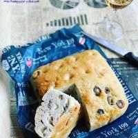 チーズ&オリーブ・フォカッチャ