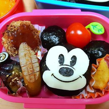 ★幼稚園弁当★ミッキーマウス