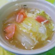 とろ~りトマト白菜スープ