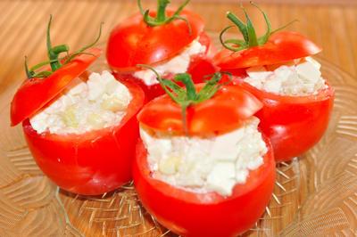 トマトカップdeお豆腐とライスサラダ