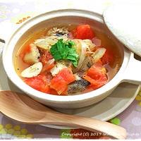 簡単■ フレッシュトマトと白身魚のブイヤベース風 ■お料理教室人気レシピ♪(゚д゚)ノ