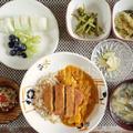 肉を食べない仏人も気に入る豆腐カツカレー定食