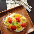 ふわっふわ「水切りヨーグルトのリコッタ風パンケーキ」簡単にカロリーオフできるスイーツ。