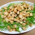 高野豆腐そぼろと水菜丼