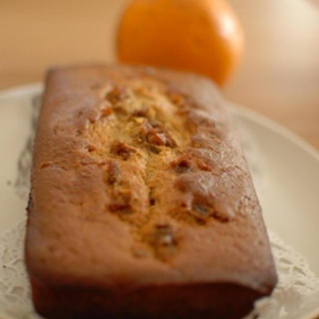 オレンジケーキ (バター不使用)