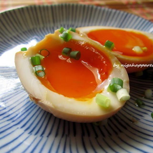 ラーメン屋さんの煮卵