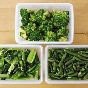 お弁当の隙間おかずにも。困ったときに使える、彩り豊かなカラー別常備菜~緑のおかず編~