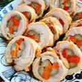 鶏もも肉の八幡巻き(動画レシピ)/Chicken roll with Burdock and Carrot. by みすずさん