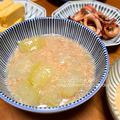 冬瓜の翡翠煮蟹あんかけ