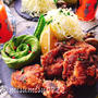 黒酢で柔らか☆鶏もも肉の黒酢唐揚げ