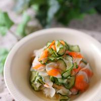 【スパイス大使】簡単美味しい!色々野菜のにんにく漬け~きゅうり・人参・大根~