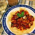 トマトソースで簡単さんまのスパゲティ by 如月さん