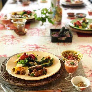 初夏のつくりおき料理教室 セミドライトマトから広がるレシピ