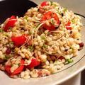 ☆もち麦と雑穀の栄養バランスサラダ☆