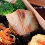 「魚の西京焼き風」のお弁当 「お弁当レッスン」連載