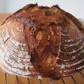 【レシピあり】ル・クルーゼで焼く味噌カンパーニュの作り方◎鍋をオーブンに入れて焼きました