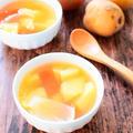 シンプルなゴロゴロ野菜のコンソメスープ