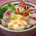 デコ鍋♡大根おろしアート♡白菜と手羽元鍋 by とまとママさん